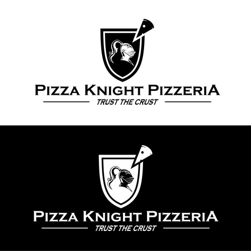 delicious pizza from knight shield