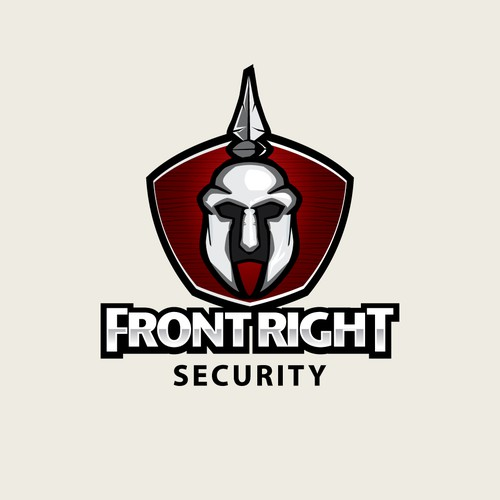 logo concept for FrontRightSecurity