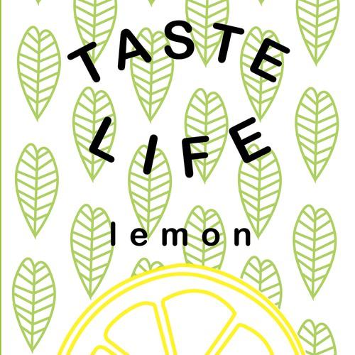 taste life label design