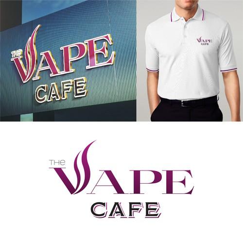 Vape shop logo