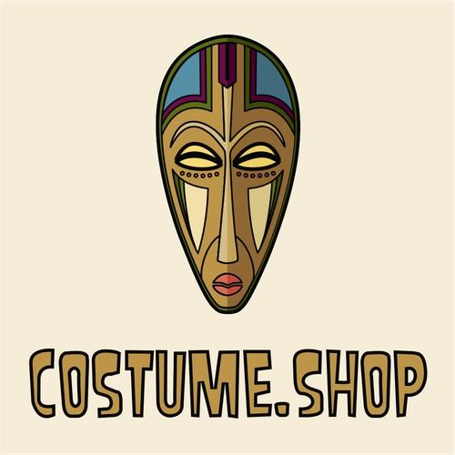 Logo concept for Costume.shop