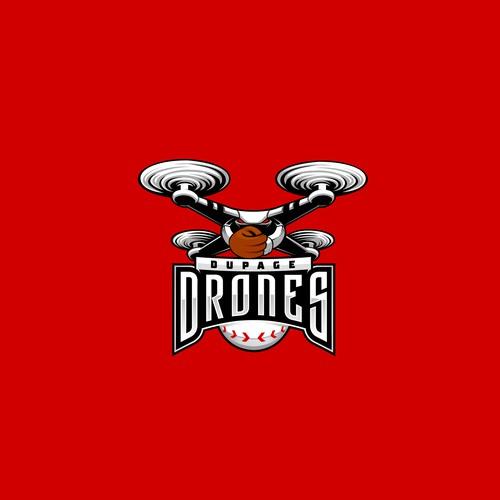 DuPage Drones Baseball Logo