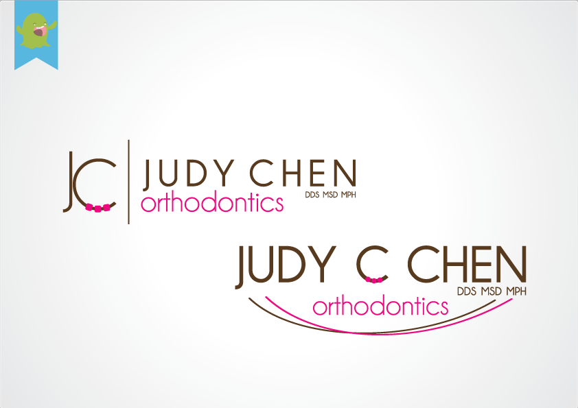 Simple modern logo for Orthodontist