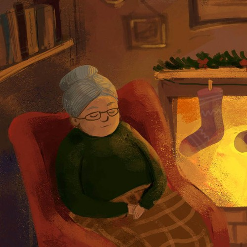 Illustrate a new Childrens book for Christmas