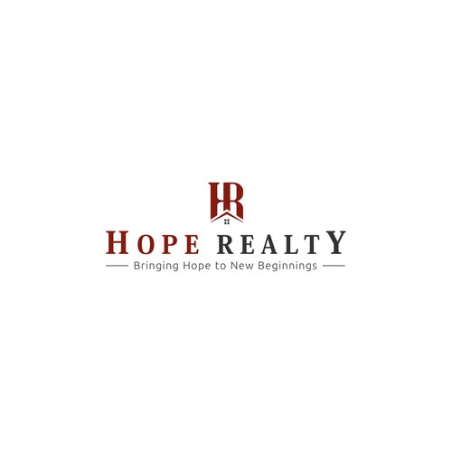 Logo concept for 'Hope Realty'