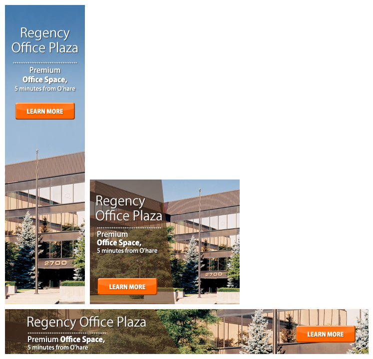 Banner Ad for Office Building