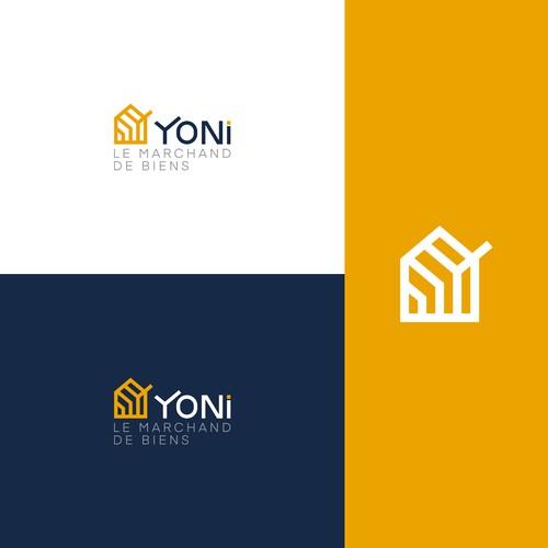 Logo for YONI le marchand de biens
