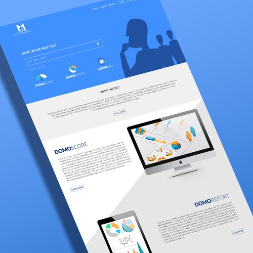 Property Scoring Website Design