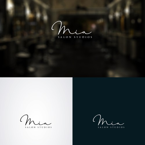 Signature logo design for MIA