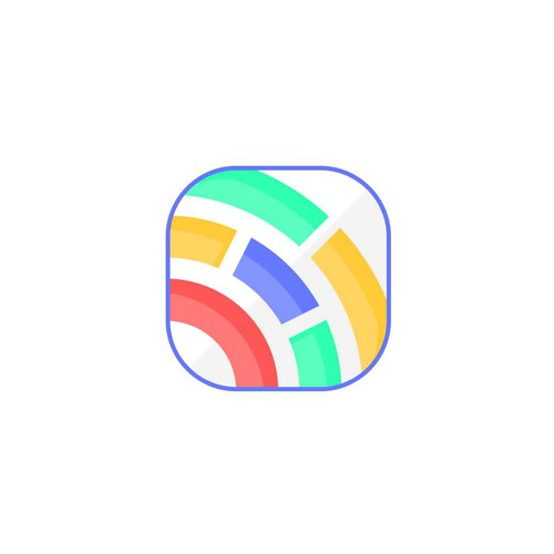 abstract button/icon for an app