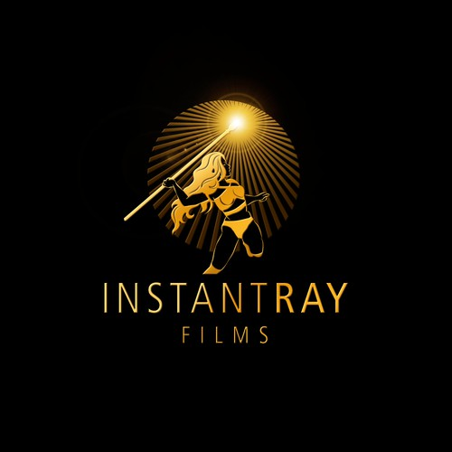 "Logo for ""INSTANT RAY FILMS"""
