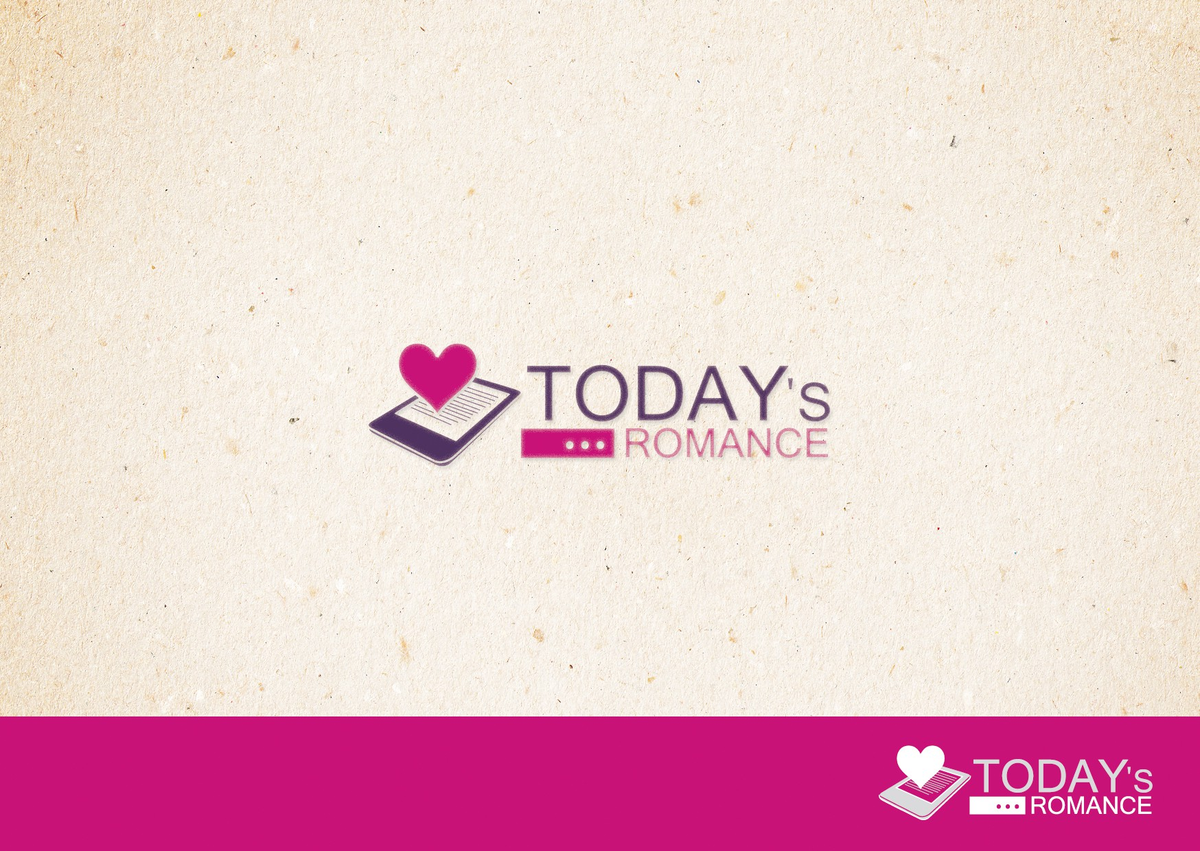 Today's Romance - We need you to create the best logo so that we can attract the best readers!