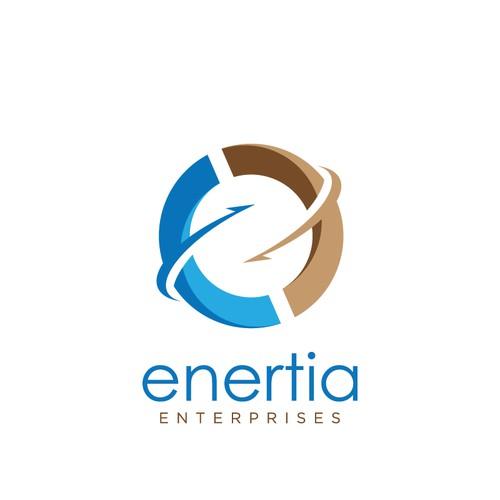 Logo concept for Enertia Enterprises
