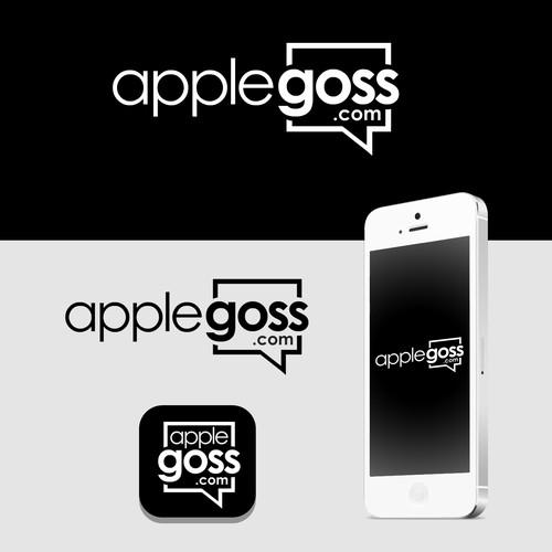 Logo concept for applegoss