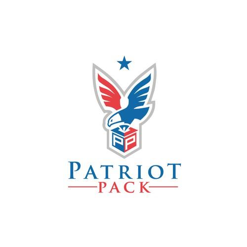 patriot pack logo design