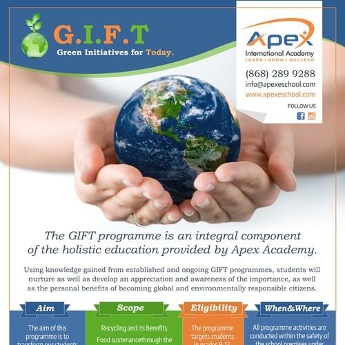 Educational program flyer