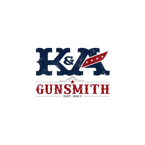 Logo design for K&A Gunsmith