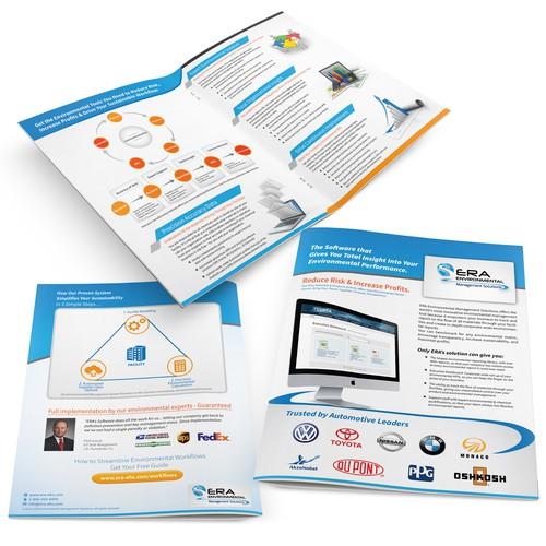 Create the next brochure design for ERA Environmental