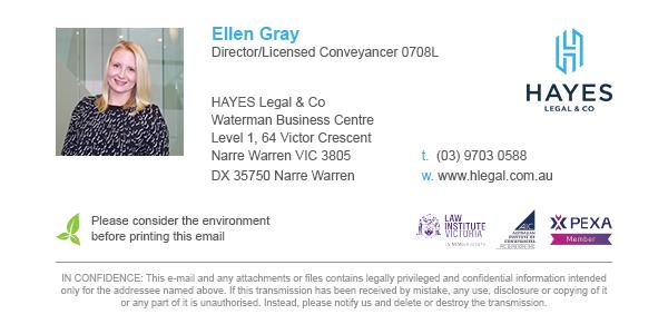 Hayes Legal & Co Branding