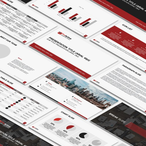 ProActive Presentation Template