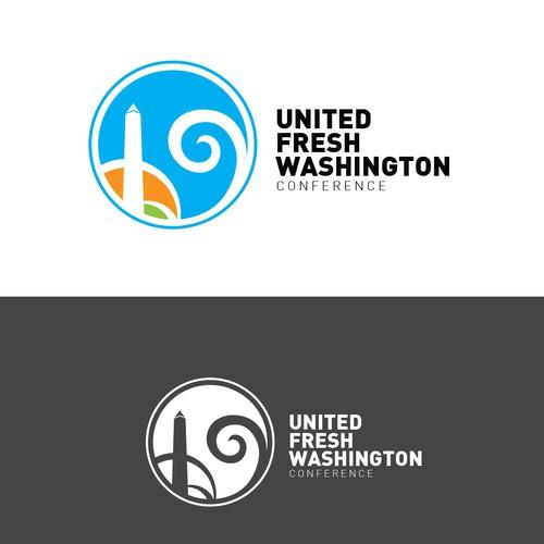 Logo design for United Fresh Washington conference