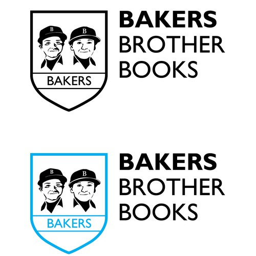 Logo Concept for Bakers Brother Books