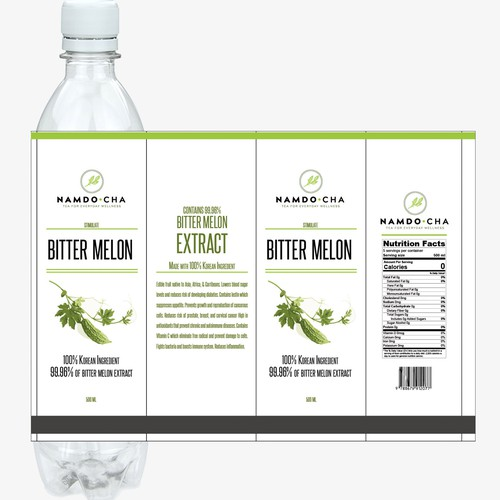 Tea Bottle Design 4