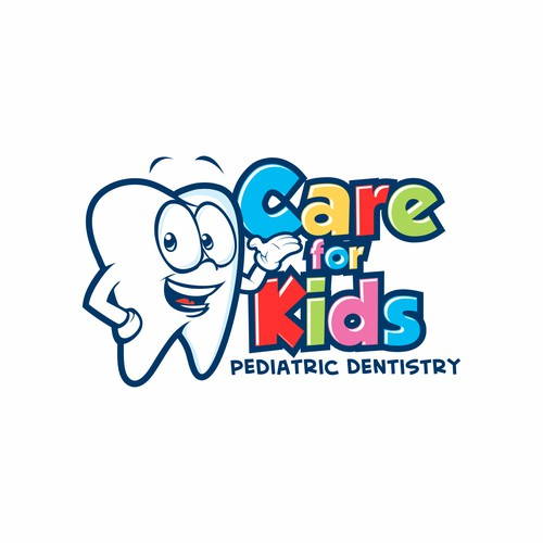 logo character for Care For Kids