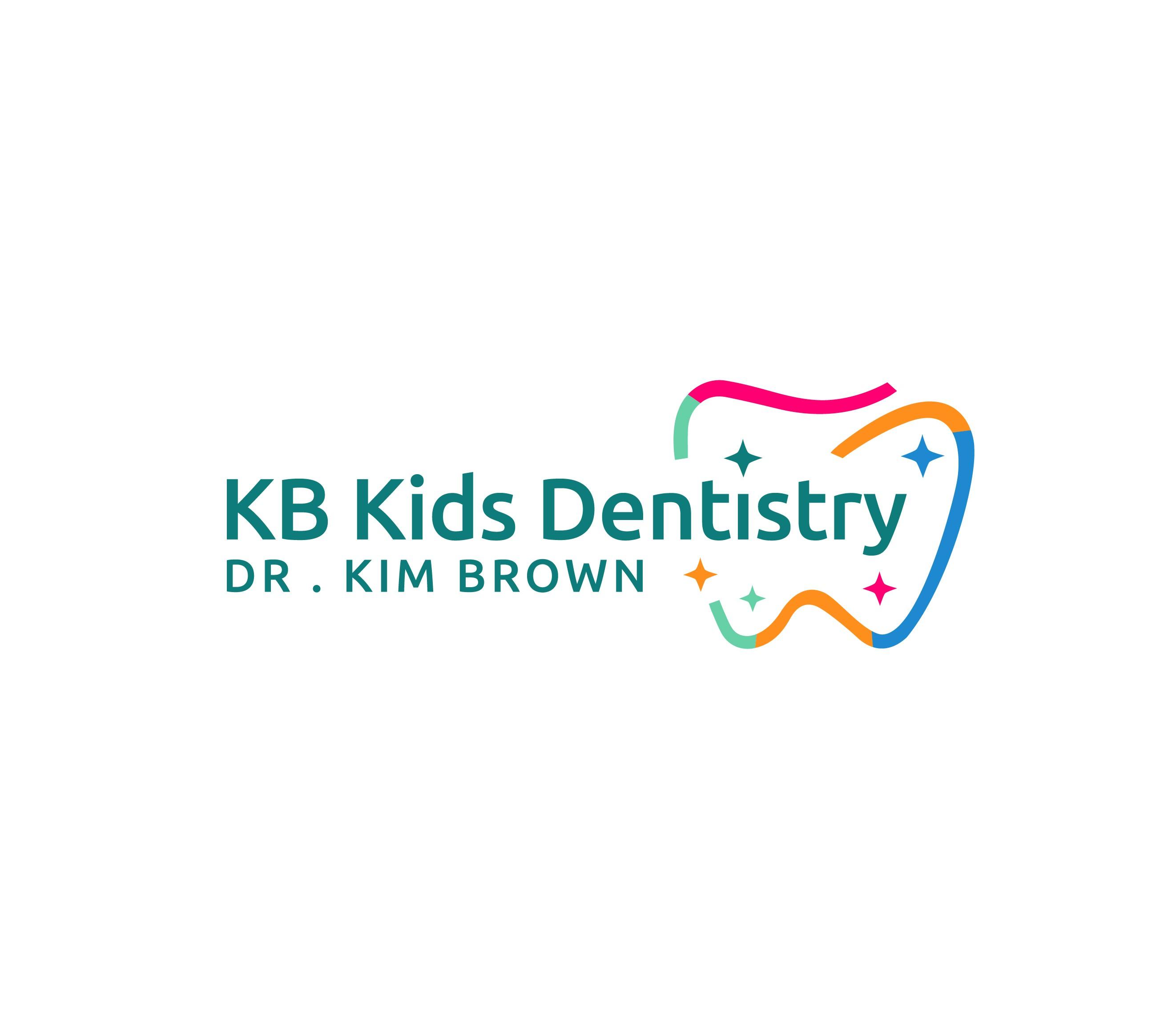 Fun and Modern Kids Dentistry Logo