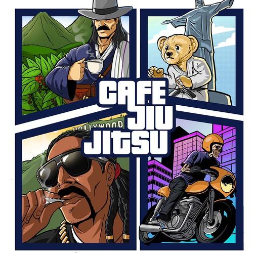 Cafe jiujitsu