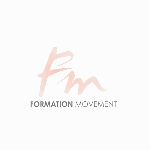 Fashionable logo for Formation Movement