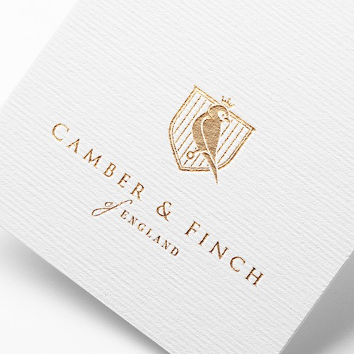Project for Camber&Finch (luxury) aviation-inspired brand