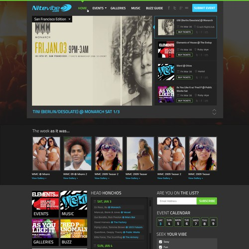 Club-DJ Culture website
