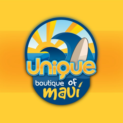 Create the next logo for Unique Boutique of Maui
