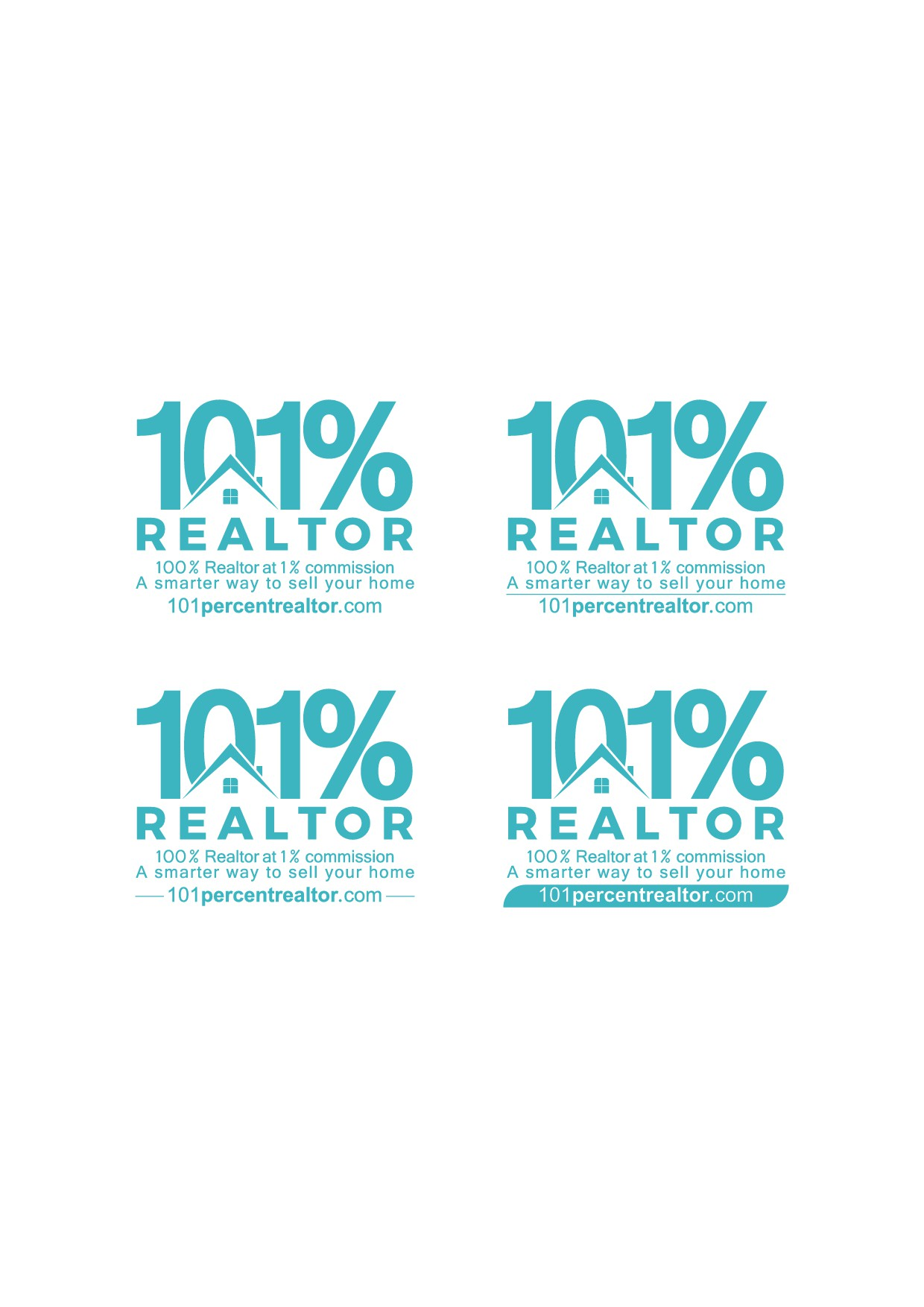 Realtor needs sharp design for company