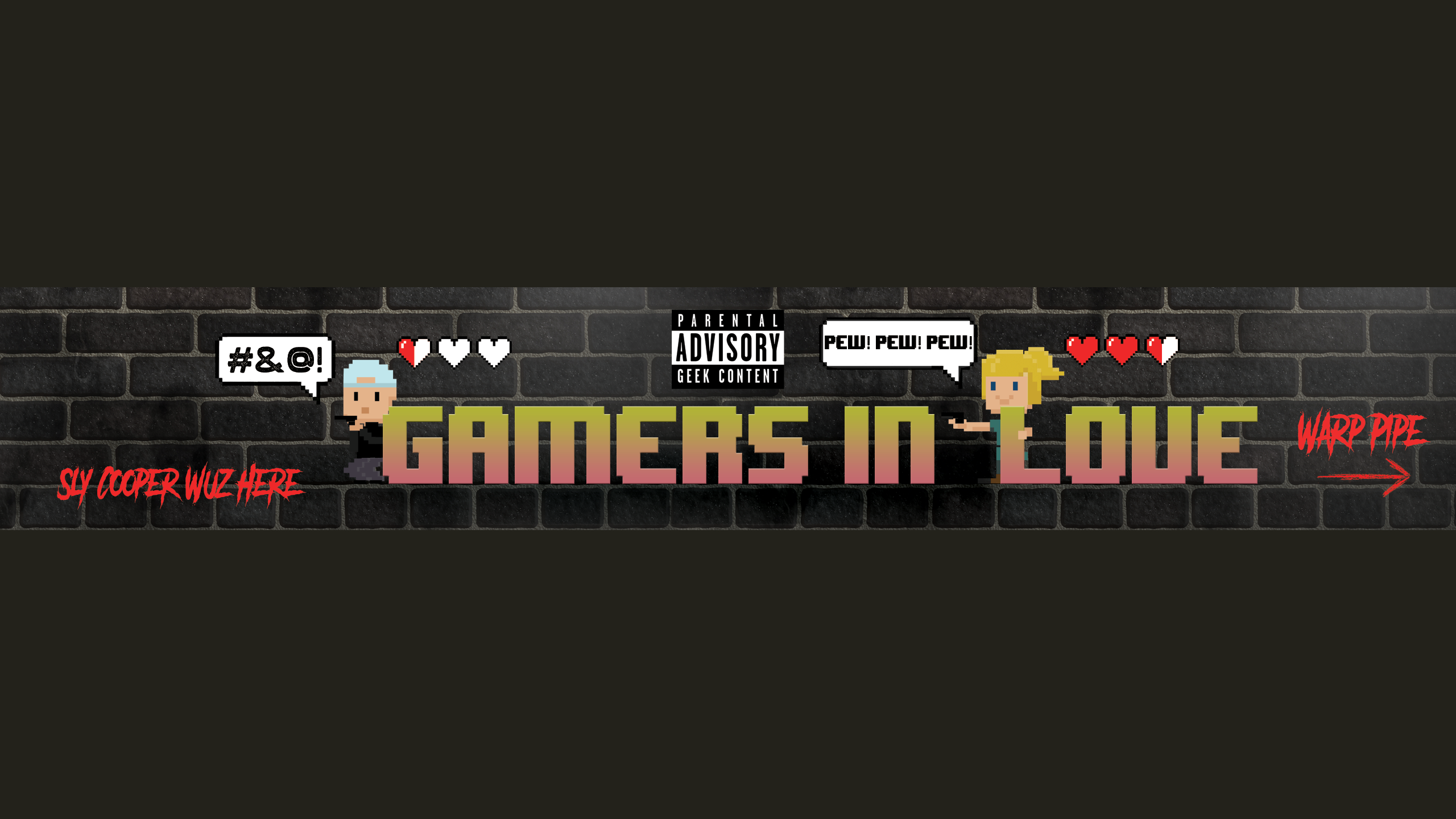Create a Rad Youtube presence for Gamers In Love