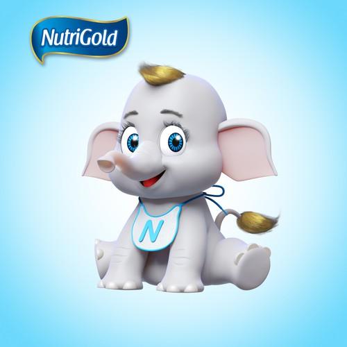 Mascot Elephant Nutrigold