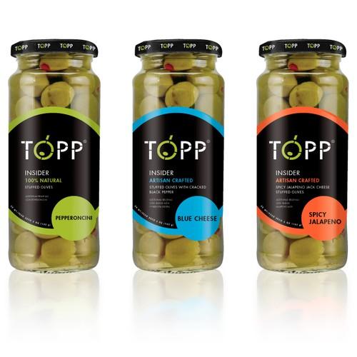 Olive jar label