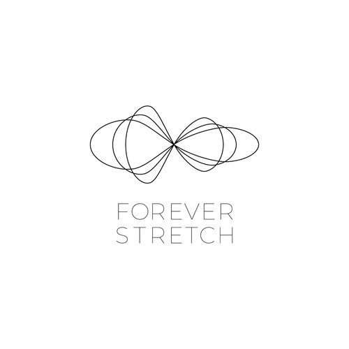 A logo for Forever Stretch