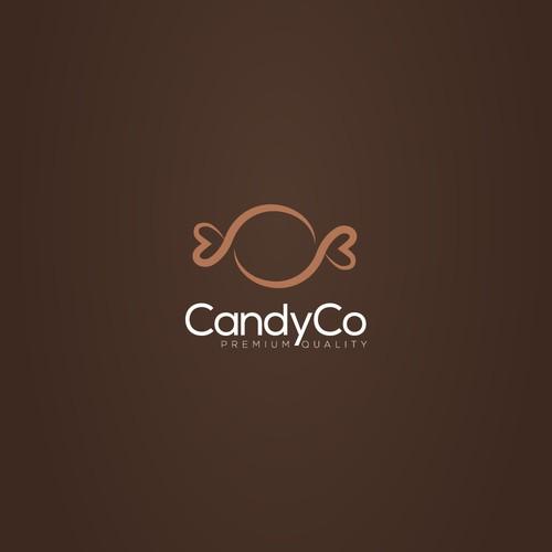 CandyCo logo design