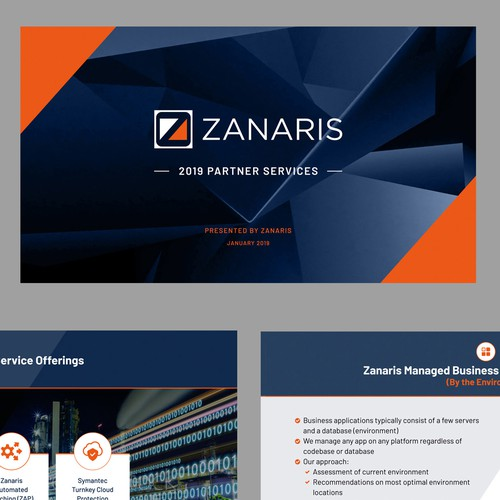 Product Deck for Zanaris