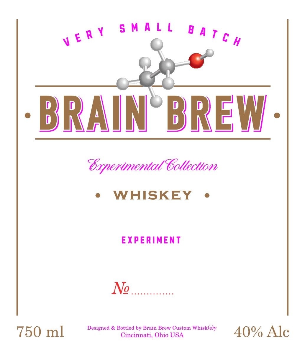 Craft Whiskey Company - needs WOW  label for it's Experimental Collection
