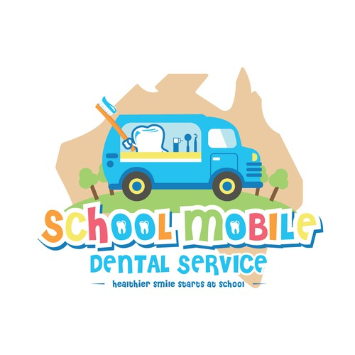 School Mobile Dental Service logo