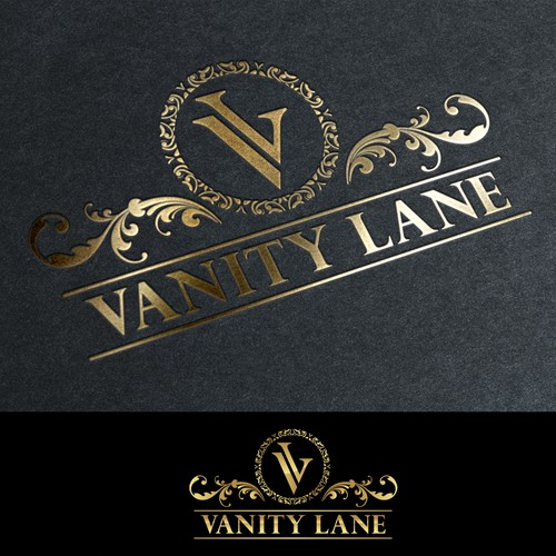 Logo proposal for Luxury vanity mirror's for woman.