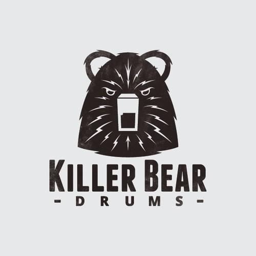 Logo for Killer Bear Drums