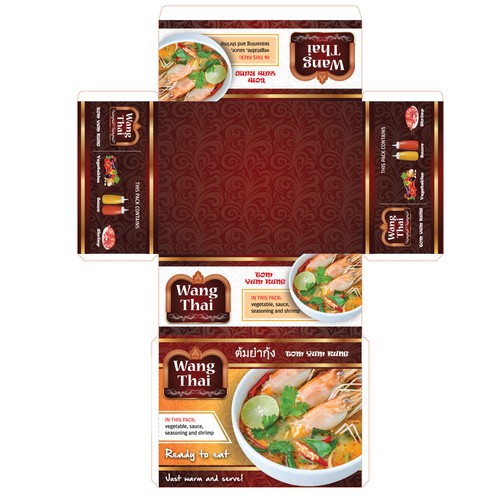 Thai food packaging