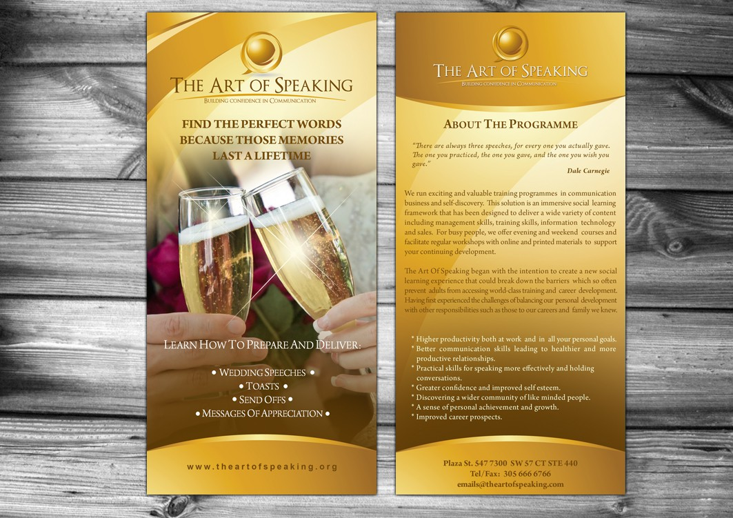 Bring The Art Of Speaking To Life