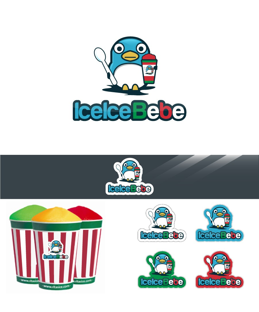 Create the next logo for IceIce Bebe