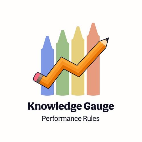 Fun brand identity for scholastic metrics initiative
