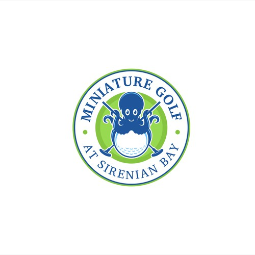 Caribbean Mini Golf Course Logo